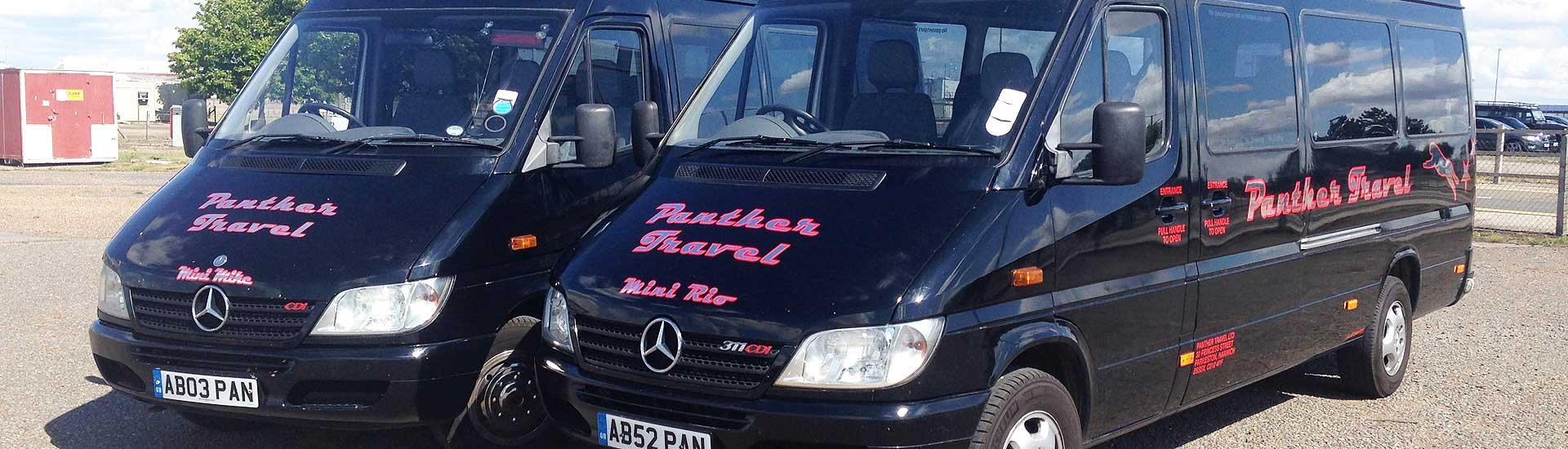 Panther Travel – Coach, Bus & Minibus Hire Across Essex